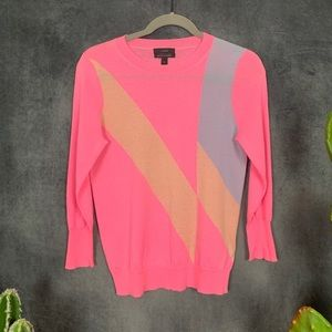 J. Crew Collection Cashmere Sweater Sorbet    F270
